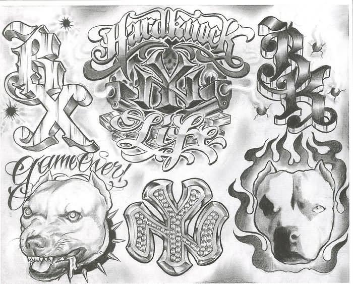 23 Wonderful Gangster Tattoo Designs