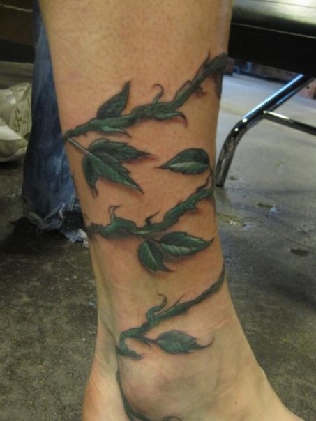 28 vine tattoos for men