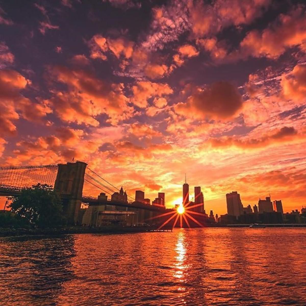 incredible sun set view - photo #42