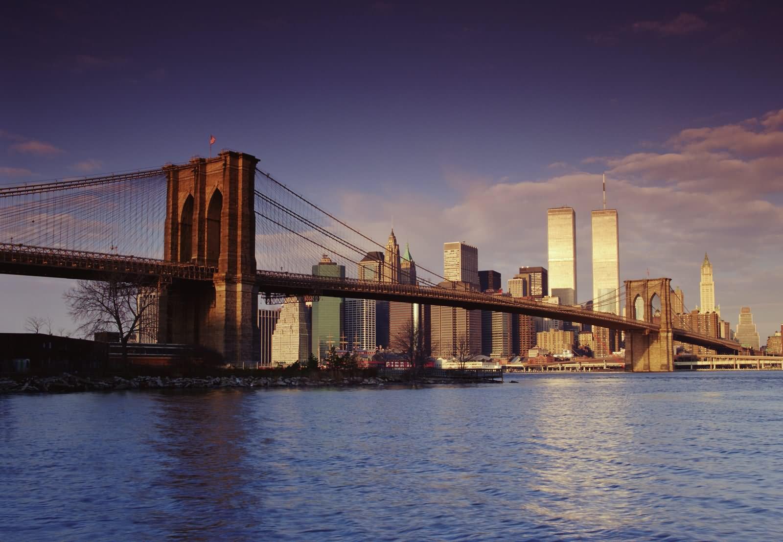 Amazing side view of brooklyn bridge malvernweather Choice Image