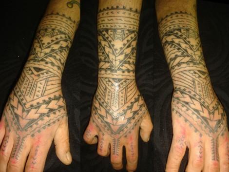 hawaiian tribal hand tattoos wwwpixsharkcom images