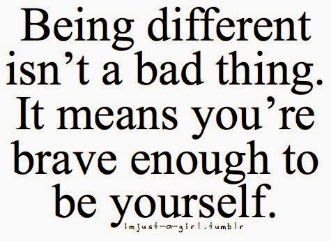 Being Different Is A Free Way For You To Be Yourself