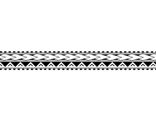 21 amazing hawaiian band tattoos. Black Bedroom Furniture Sets. Home Design Ideas
