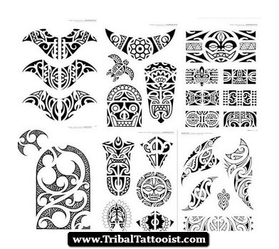 30+ Hawaiian Pattern Tattoos