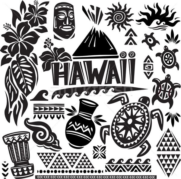 18 new hawaiian tattoo designs. Black Bedroom Furniture Sets. Home Design Ideas