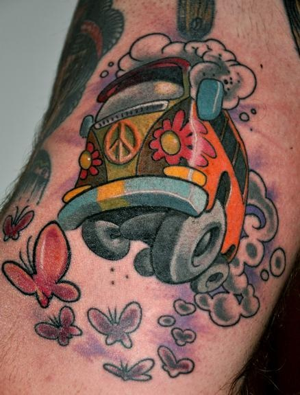 17+ Hippie Tattoos On Sleeve