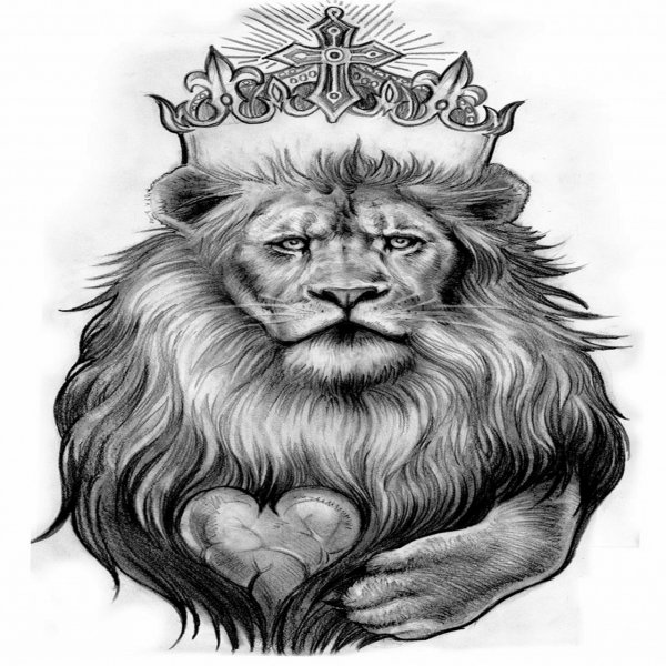 Lion With Crown Wallpaper Lion With Crown Tattoo Design: 27+ Amazing Leo Tattoos For Guys