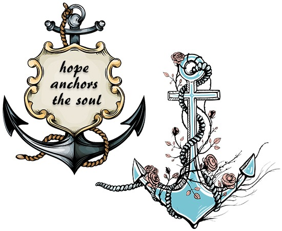 43 cute friendship anchor tattoos for Hope anchors the soul tattoo