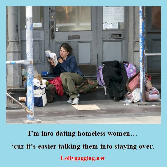 dating a homeless woman