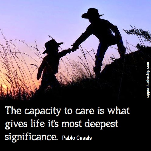 Quotes About Caring Interesting I Feel The Capacity To Care Is The Thing Which Gives Life Its