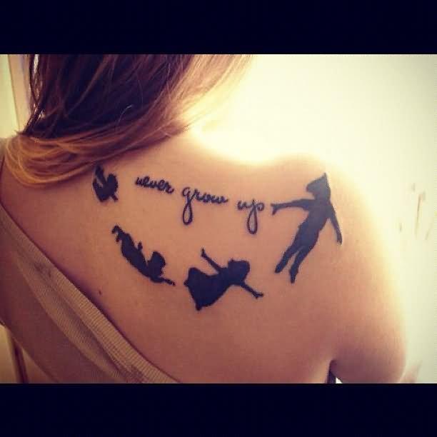 17 tinkerbell and peter pan tattoos