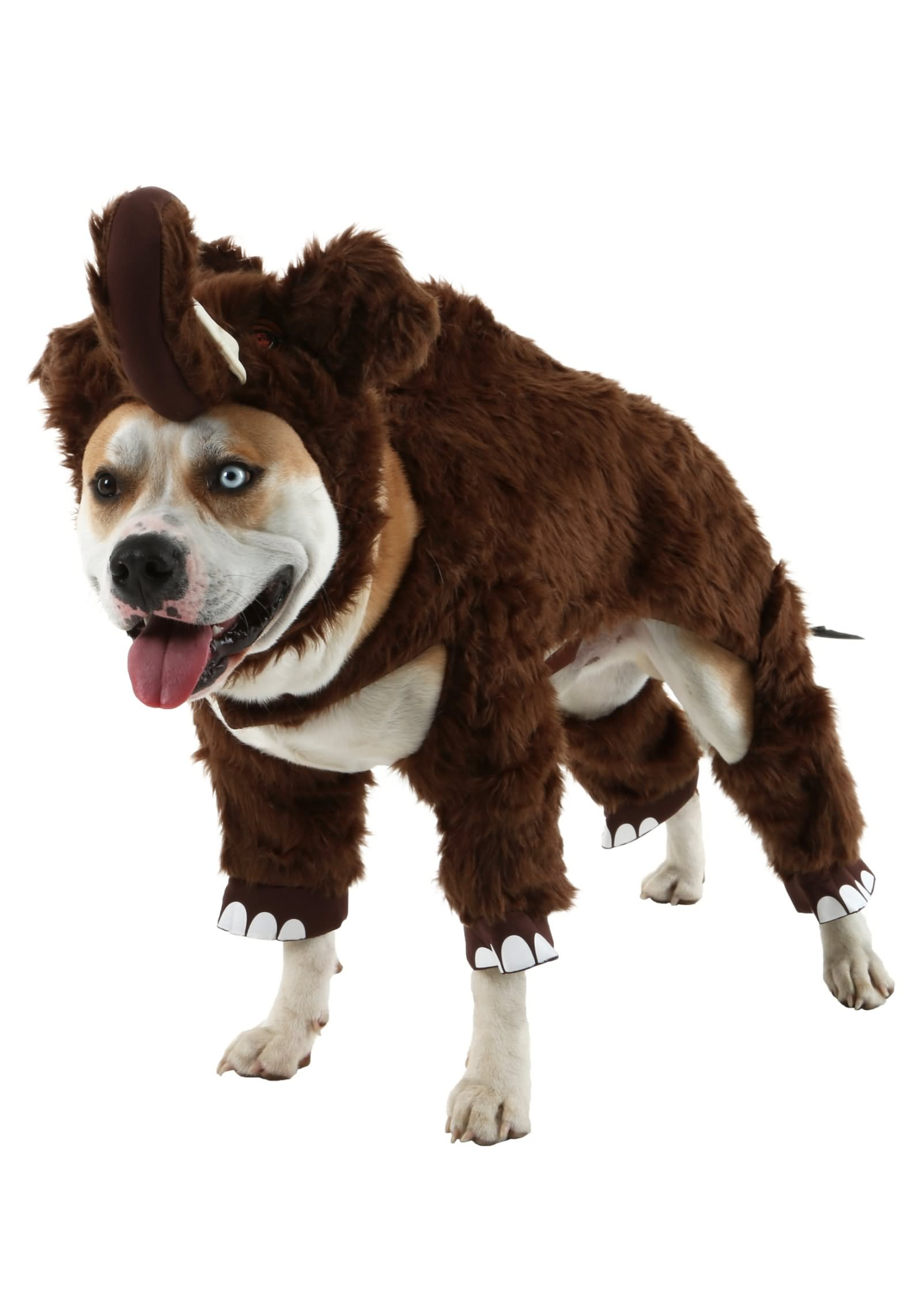Pet With Woolly Mammoth Costume Funny Picture