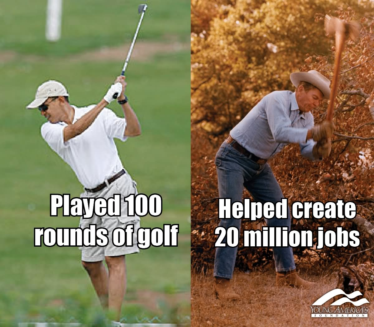 Played 100 Rounds Of Golf Funny Meme Image