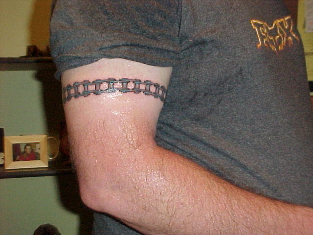 15 Motorcycle Chain Tattoos