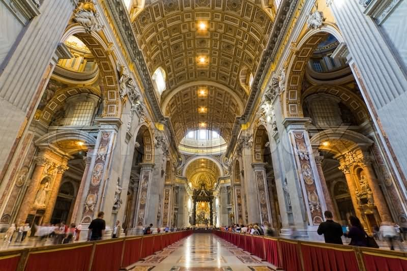 40 Very Amazing St. Peter Basilica, Vatican City Inside ...