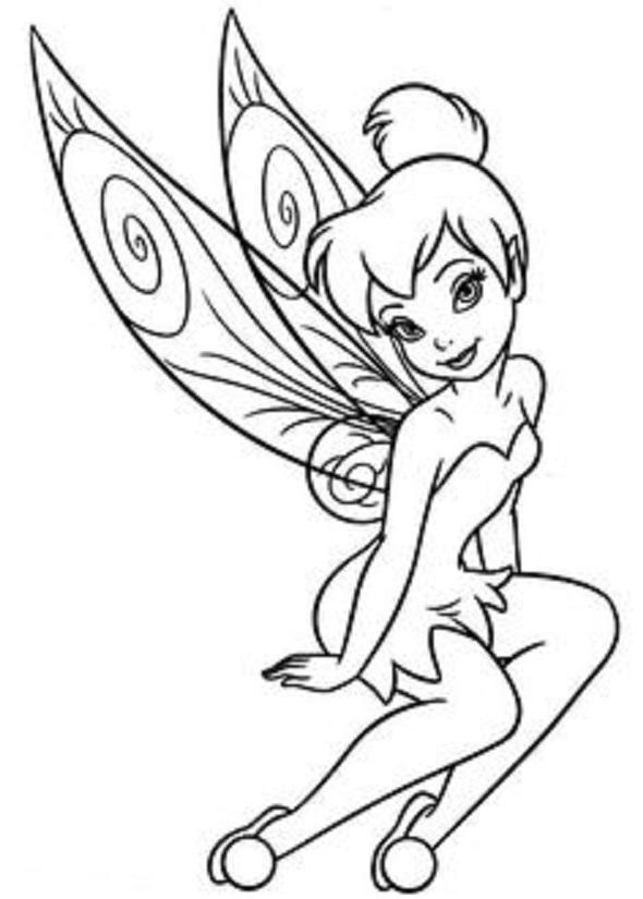 20 Tinkerbell Tattoo Designs