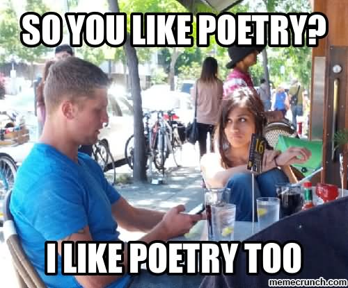 Funny poems about online dating