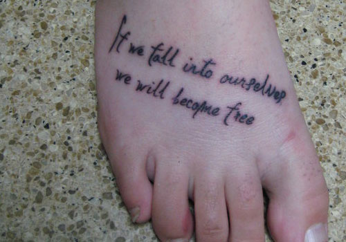 13+ Tinkerbell Tattoos With Quotes