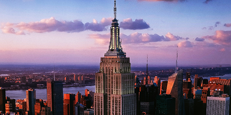 empire state building sunset - photo #42