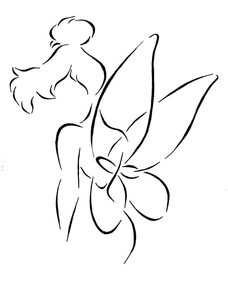 20 Tinkerbell Tattoo Designs