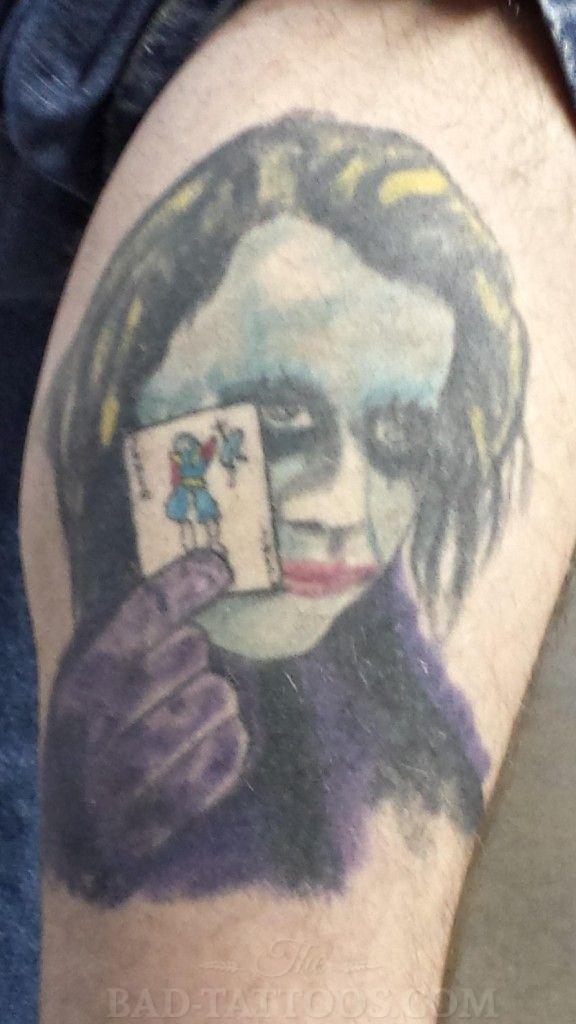 22 Nice Joker Tattoos On Leg