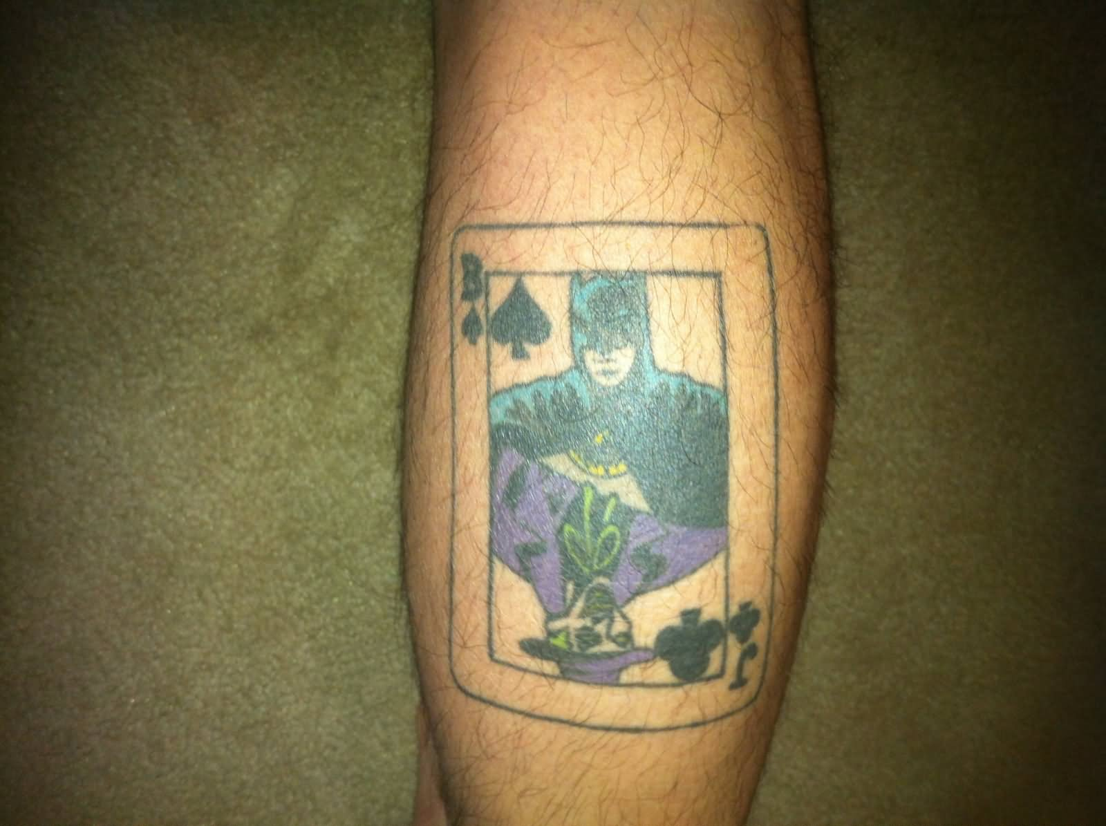 Batman Joker Card Tattoo 34+ Joker Card ...