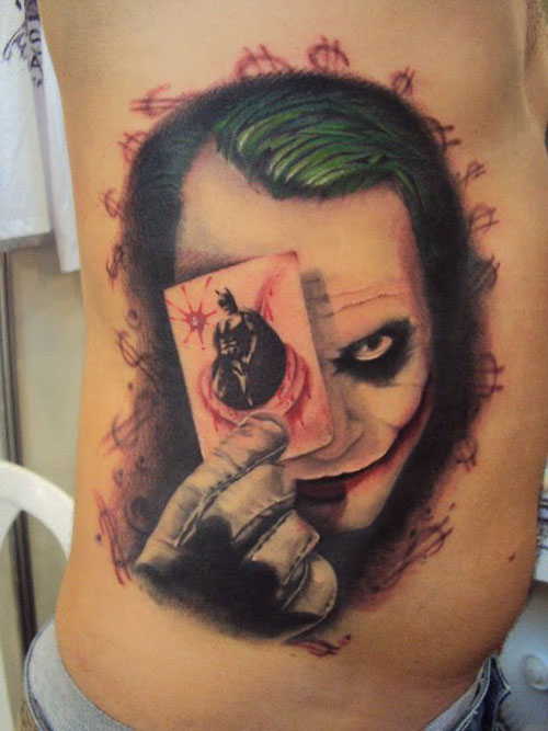 Batman Joker Card Tattoo 38+ Batman Joke...