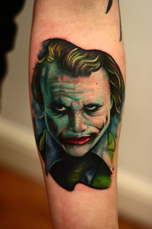 30 Awesome Heath Ledger Joker Tattoos