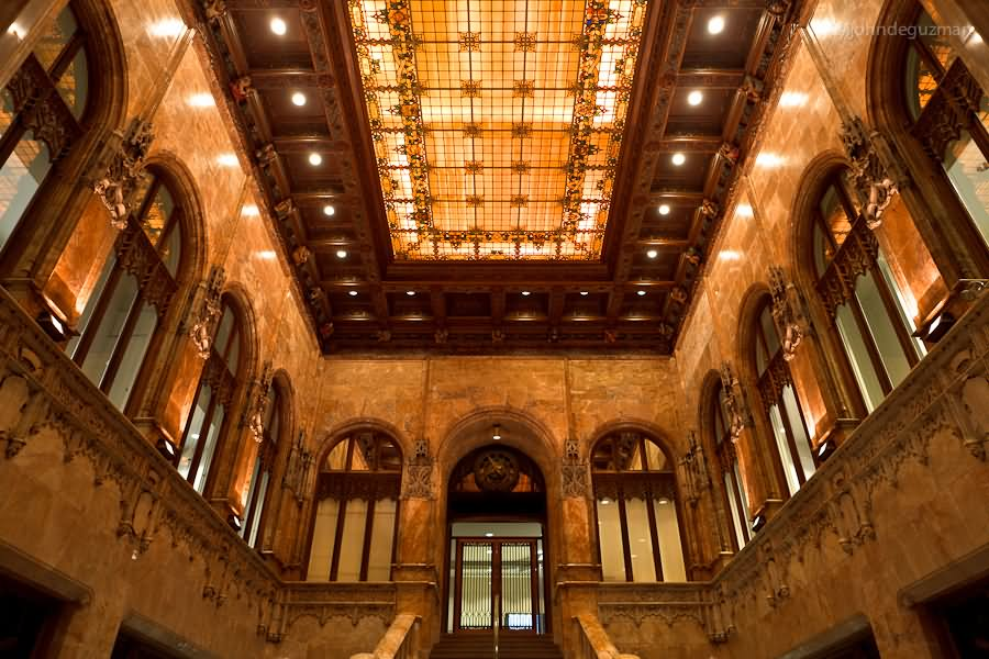 Chrysler Building New York Interior