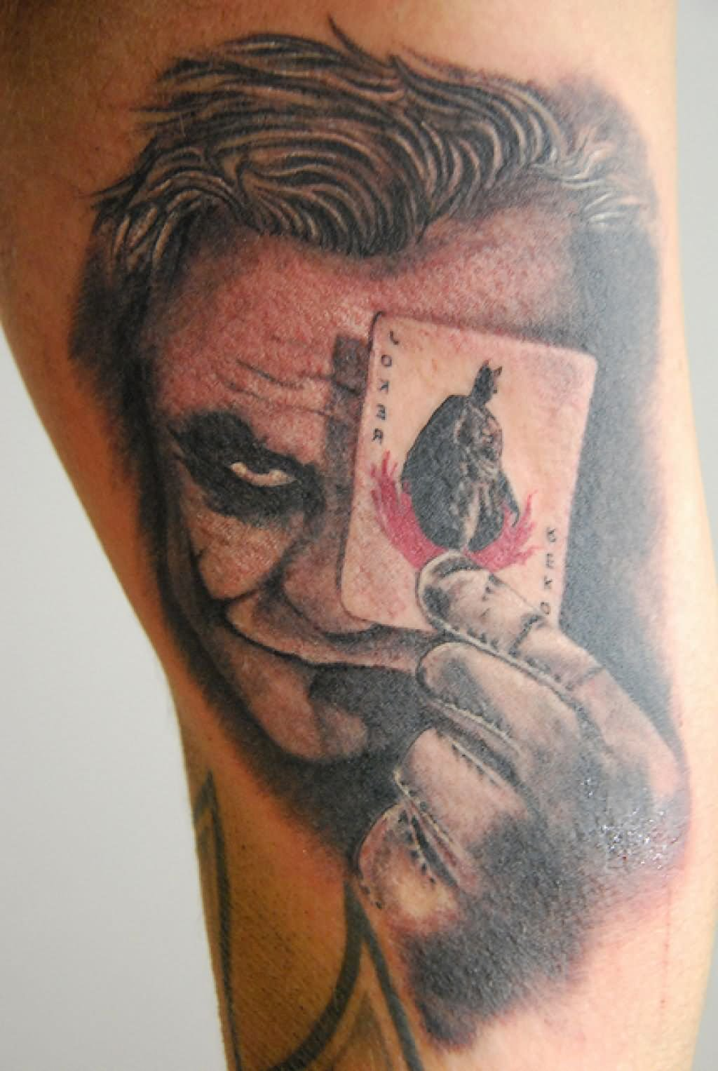 Batman Joker Card Tattoo 55+ Cool Joker ...