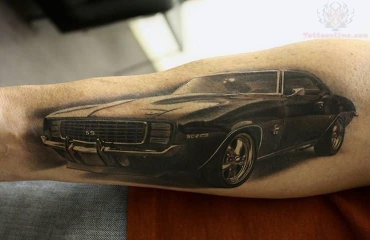8 Unique Camaro Tattoos