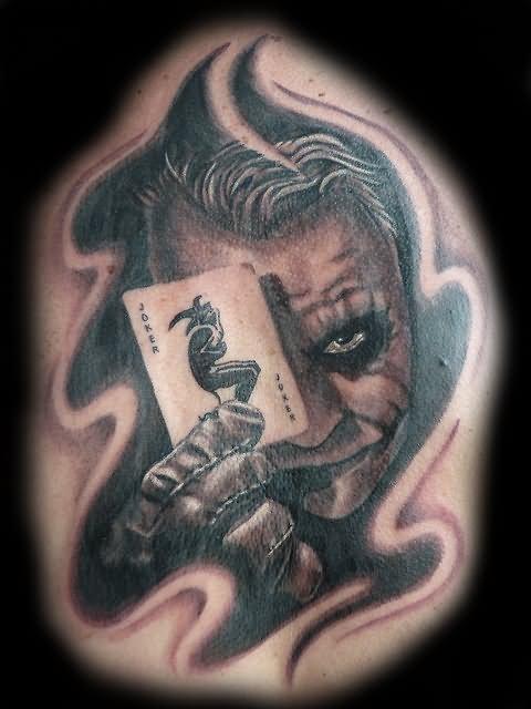 34+ Joker Card Tattoos