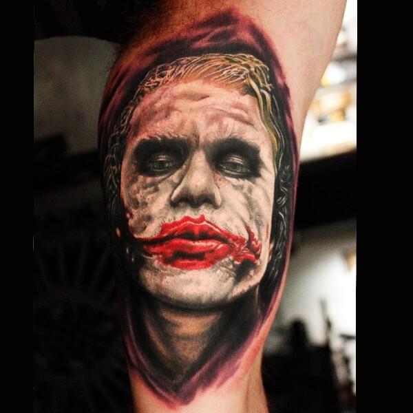 Batman Joker Card Tattoo 10+ Joker Tattoos For ...