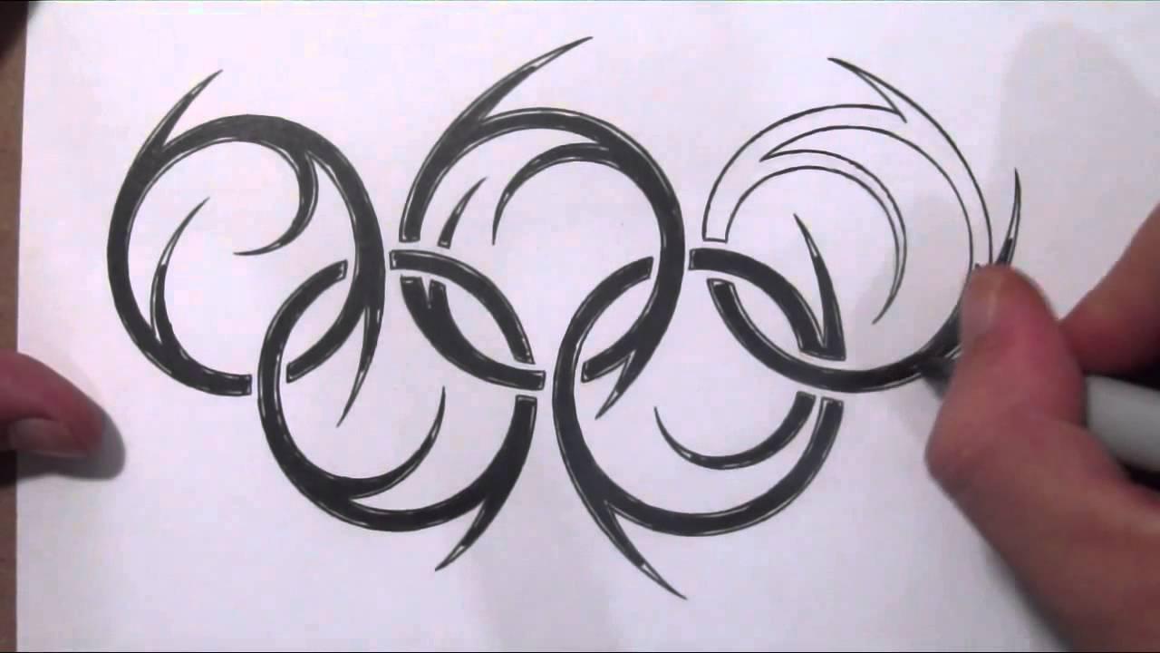 4 latest olympic tattoo designs black tribal olympic symbol tattoo design biocorpaavc Choice Image