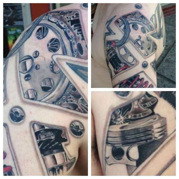 Engine Parts Tattoo Pictures to Pin on Pinterest - TattoosKid