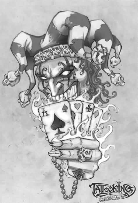 Joker Card Tattoo Ideas: 20+ Awesome Joker Tattoo Designs