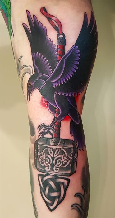 Raven Viking Tattoo
