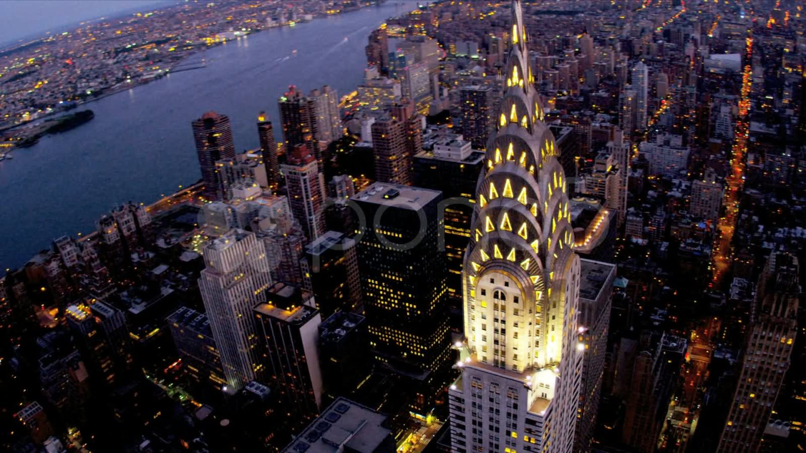 27 Very Amazing Night View Pictures Of Chrysler Building ...