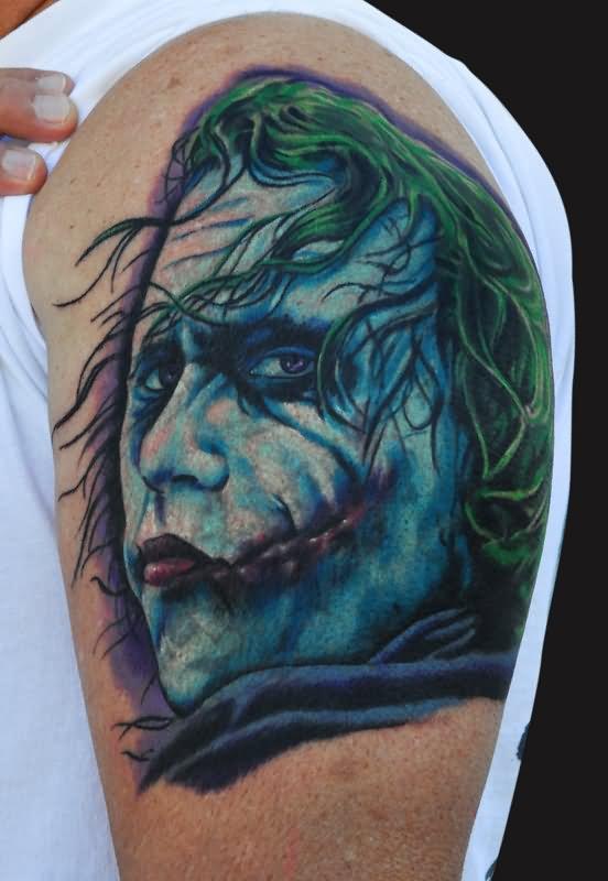 laughing man tattoo - photo #43