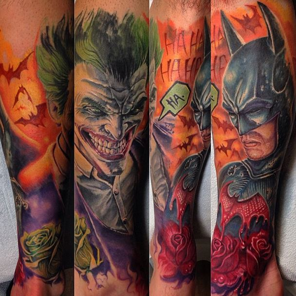 38+ Batman Joker Tattoos