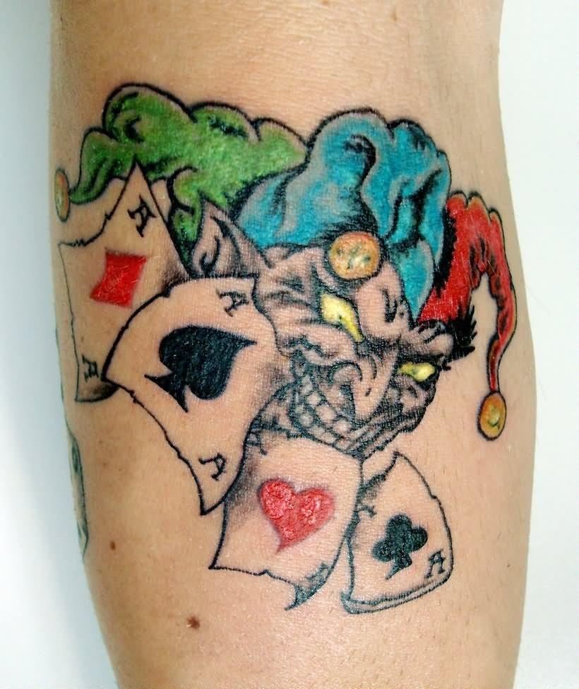 34 Joker Card Tattoos