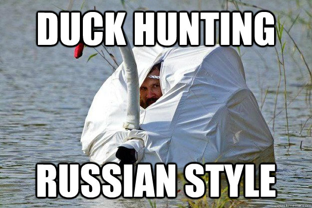 Duck face hunting meme - photo#6