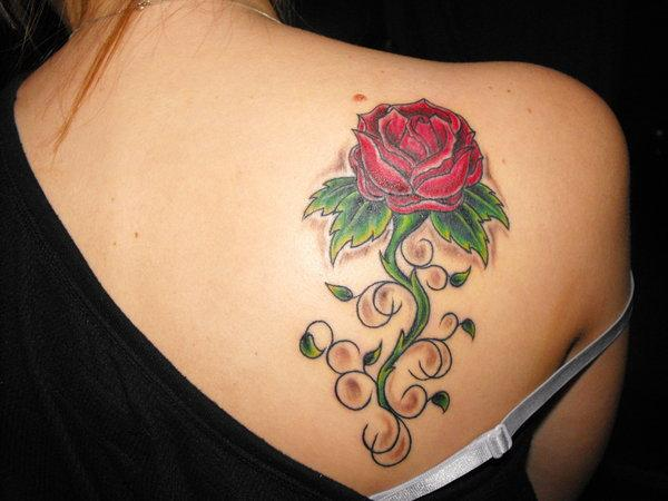 Feminine tattoos for Feminine shoulder tattoos