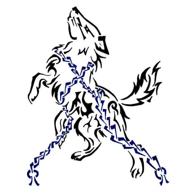 Fenrir wolf symbol - photo#50