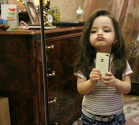 how to make the duck face