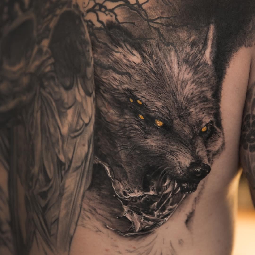 15+ Best Fenrir Tattoo Designs And Ideas