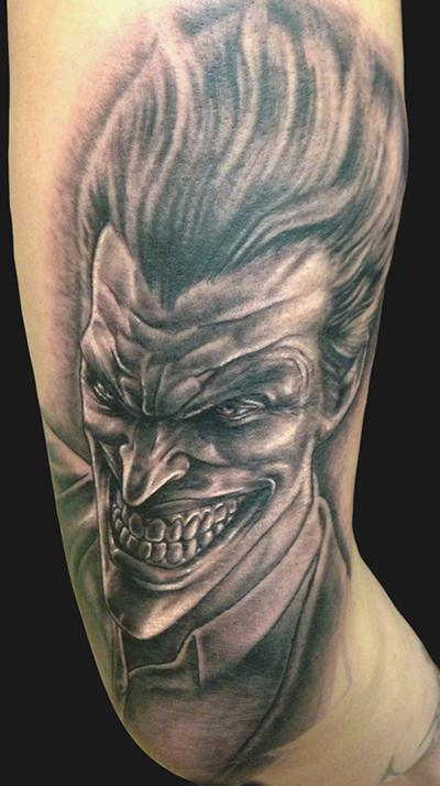 Joker Card Tattoo Ideas: 55+ Cool Joker Tattoos