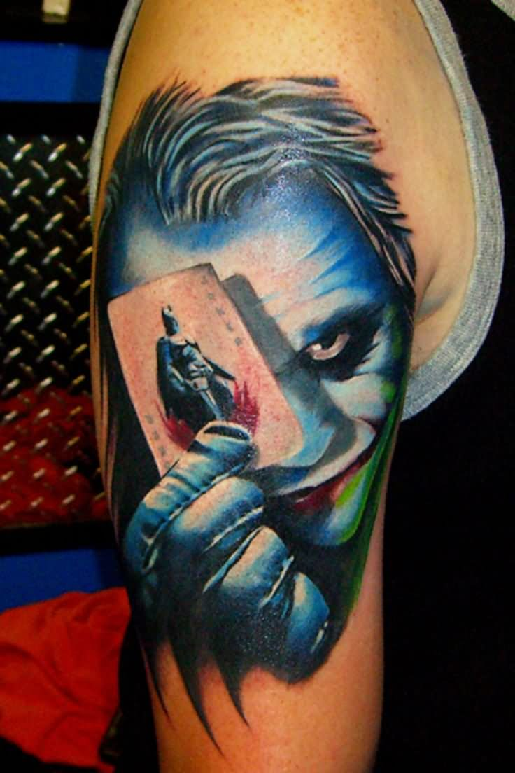 Joker Tattoo On Hand: 34+ Joker Card Tattoos