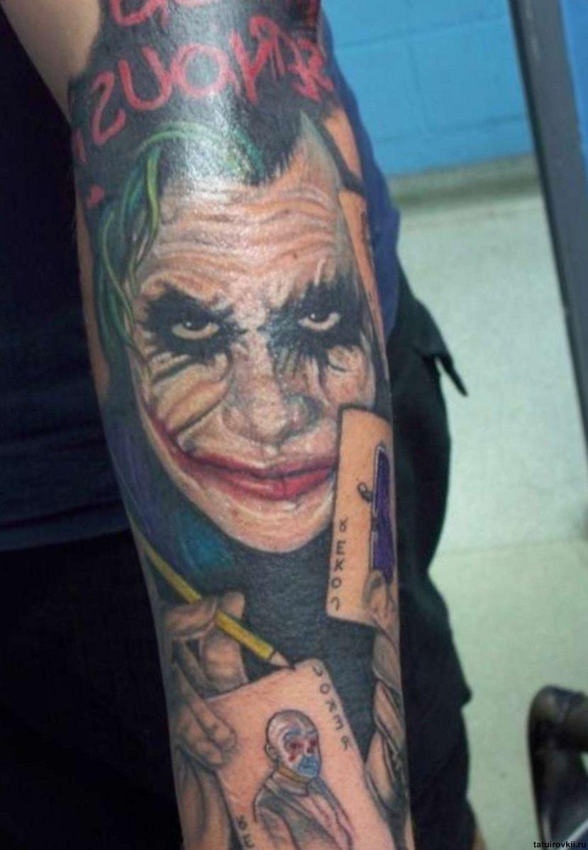55 Cool Joker Tattoos