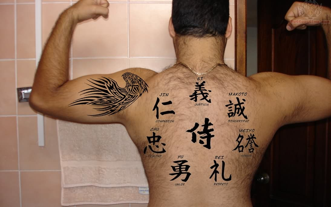 35 wonderful kanji tattoos